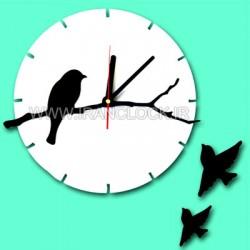ساعت دیواری فانتزی پرنده