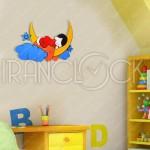 ساعت دیواری فانتزی رویای کودک